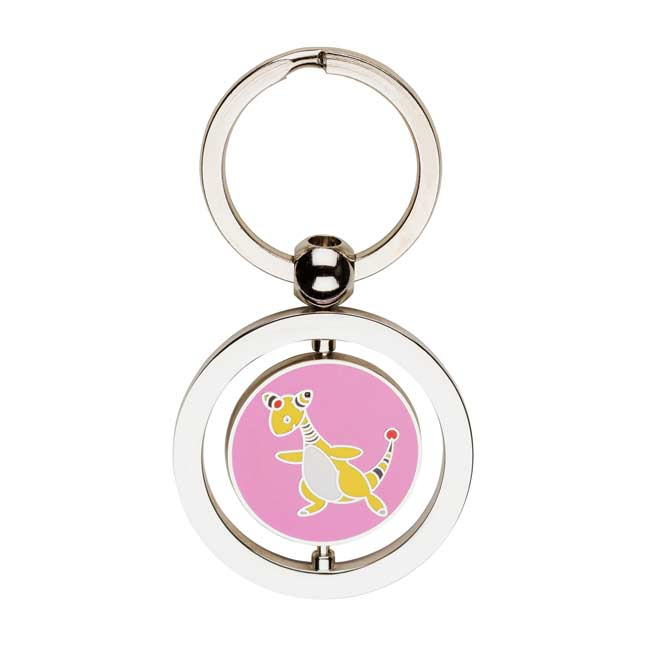 Image for Flaaffy and Ampharos Spinning Keychain from Pokemon Center