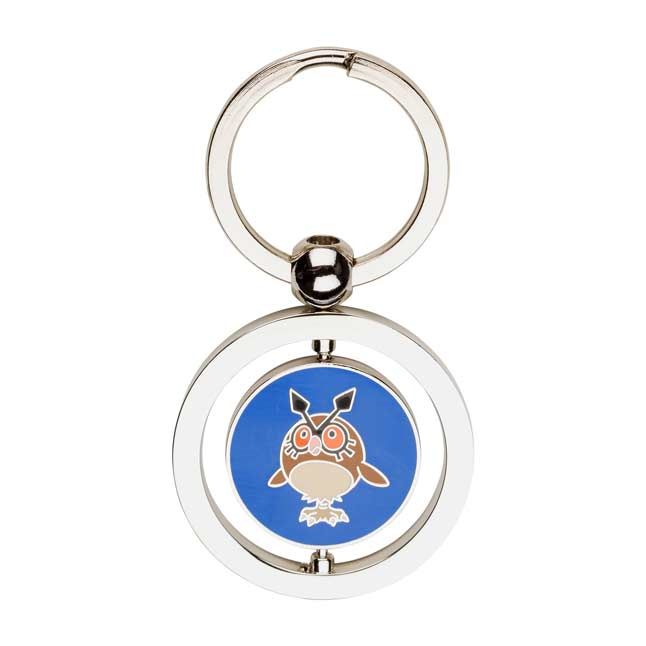Image for Hoothoot and Noctowl Spinning Keychain from Pokemon Center