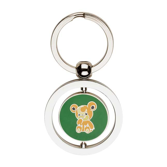 Image for Teddiursa and Ursaring Spinning Keychain from Pokemon Center