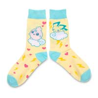 Image for Johto Cuties Crew Socks (One Size-Adult) from Pokemon Center