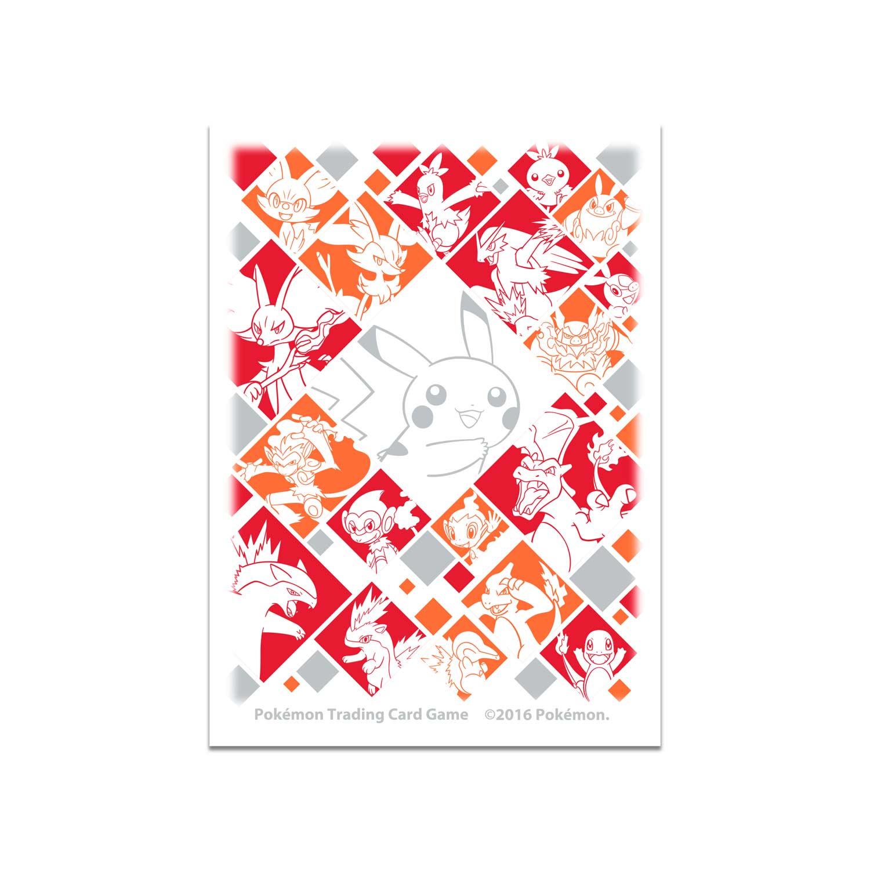 Just My Type: Fire Type Card Sleeves (65 Sleeves)