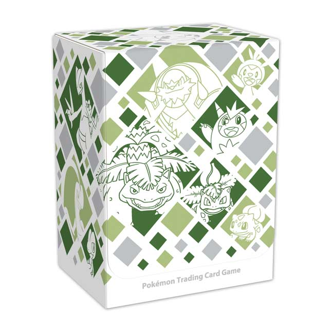 Image for Pokémon TCG: Just My Type (Grass) Deck Box from Pokemon Center