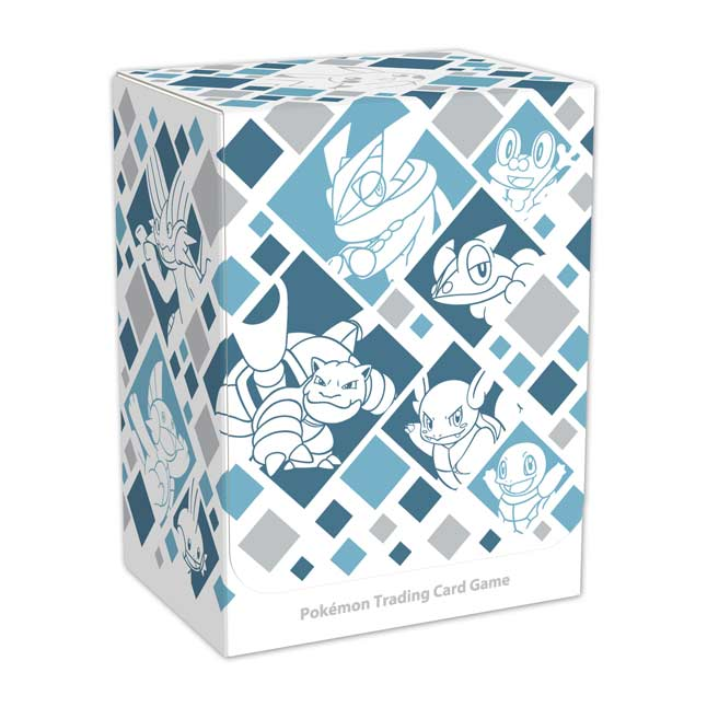 Image for Pokémon TCG: Just My Type (Water) Deck Box from Pokemon Center
