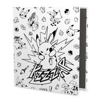 Pikachu Comic-Style Trading Card Game 1 In. D-Ring Binder