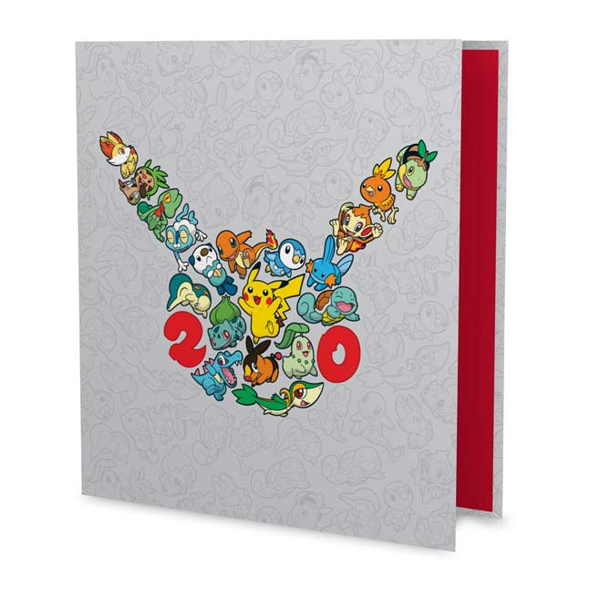 "Image for Pokémon 20th 1"" D-Ring Binder from Pokemon Center"