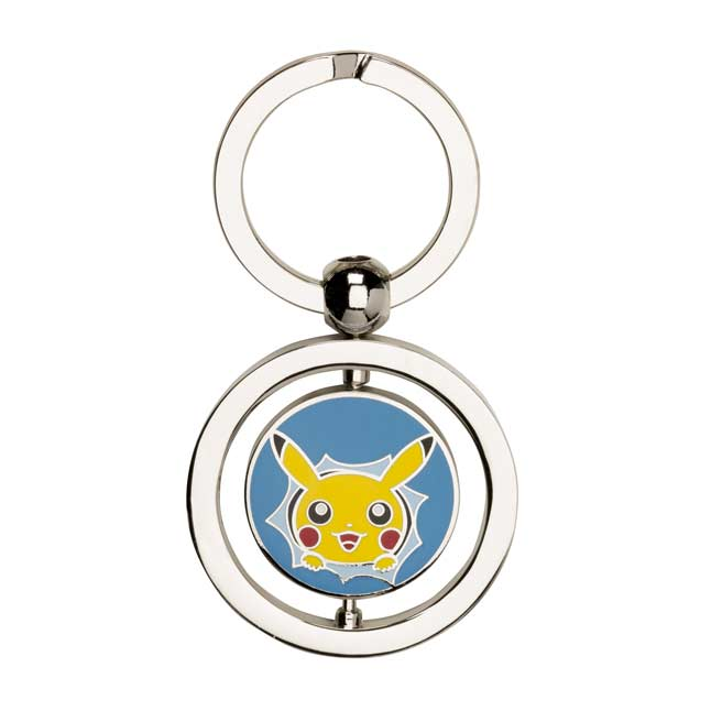 Image for Pikachu Hip Pop Parade Spinning Keychain from Pokemon Center