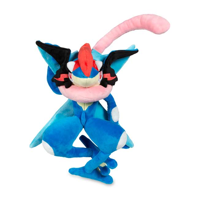 "Image for Ash-Greninja Poké Plush (Large Size) - 13"" from Pokemon Center"
