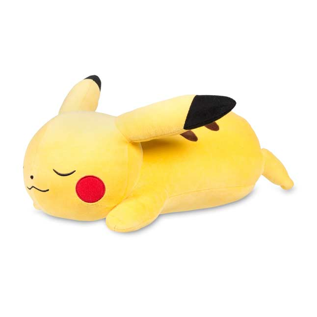 "Image for Sleeping Pikachu Poké Plush (Jumbo Size) - 17"" from Pokemon Center"