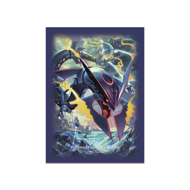 Image for Shiny Mega Rayquaza Card Sleeves (65 Sleeves) from Pokemon Center
