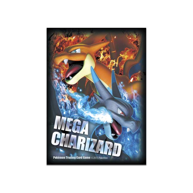 Image for Mega Charizard X & Mega Charizard Y Card Sleeves (65 Sleeves) from Pokemon Center