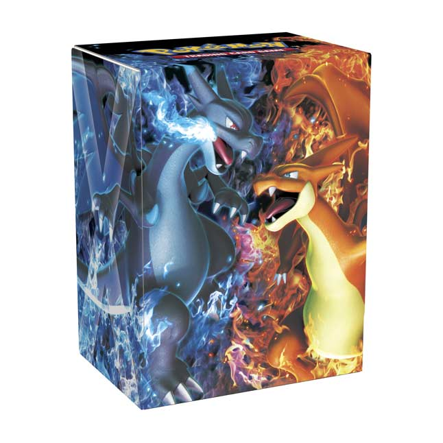 Image for Pokémon TCG: Mega Charizard X & Mega Charizard Y Deck Box from Pokemon Center