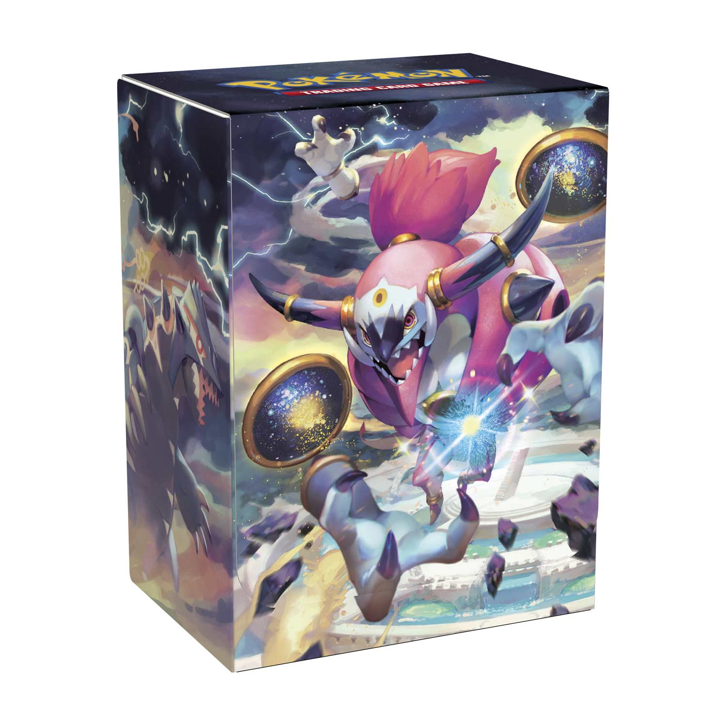 """Hoopa Unbound Pokemon Trading Card Game Official Playmat 24/"""" x 14/"""" Mega Sized"""