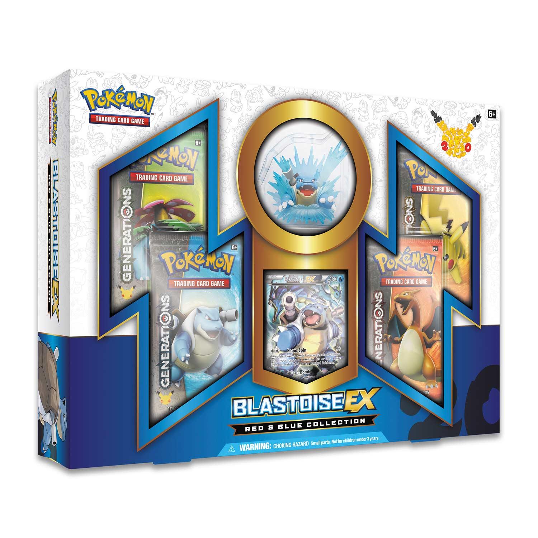Image For Pokémon Tcg Red Blue Collection Blastoise Ex From Pokemon Center