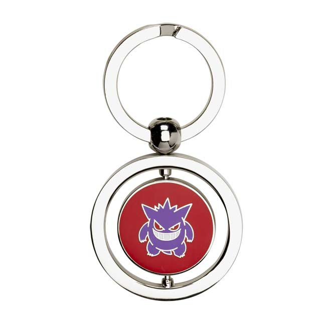 Image for Gengar and Mega Gengar Spinning Keychain from Pokemon Center