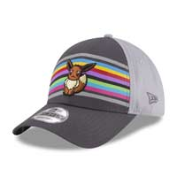 Eevee Spectrum Sleek 9FORTY Baseball Cap by New Era (One Size-Adult)