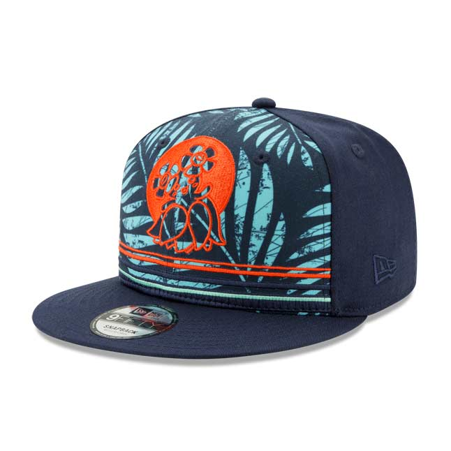 Image for Bellossom Tropics 9FIFTY Baseball Cap by New Era (One Size-Adult) from Pokemon Center