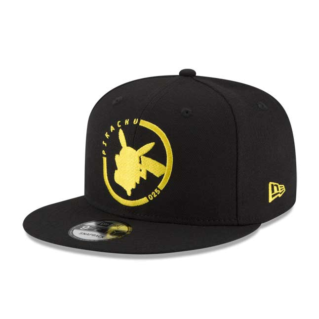 Image for Pikachu Silhouette Sync 9FIFTY Baseball Cap by New Era (One Size-Adult) from Pokemon Center