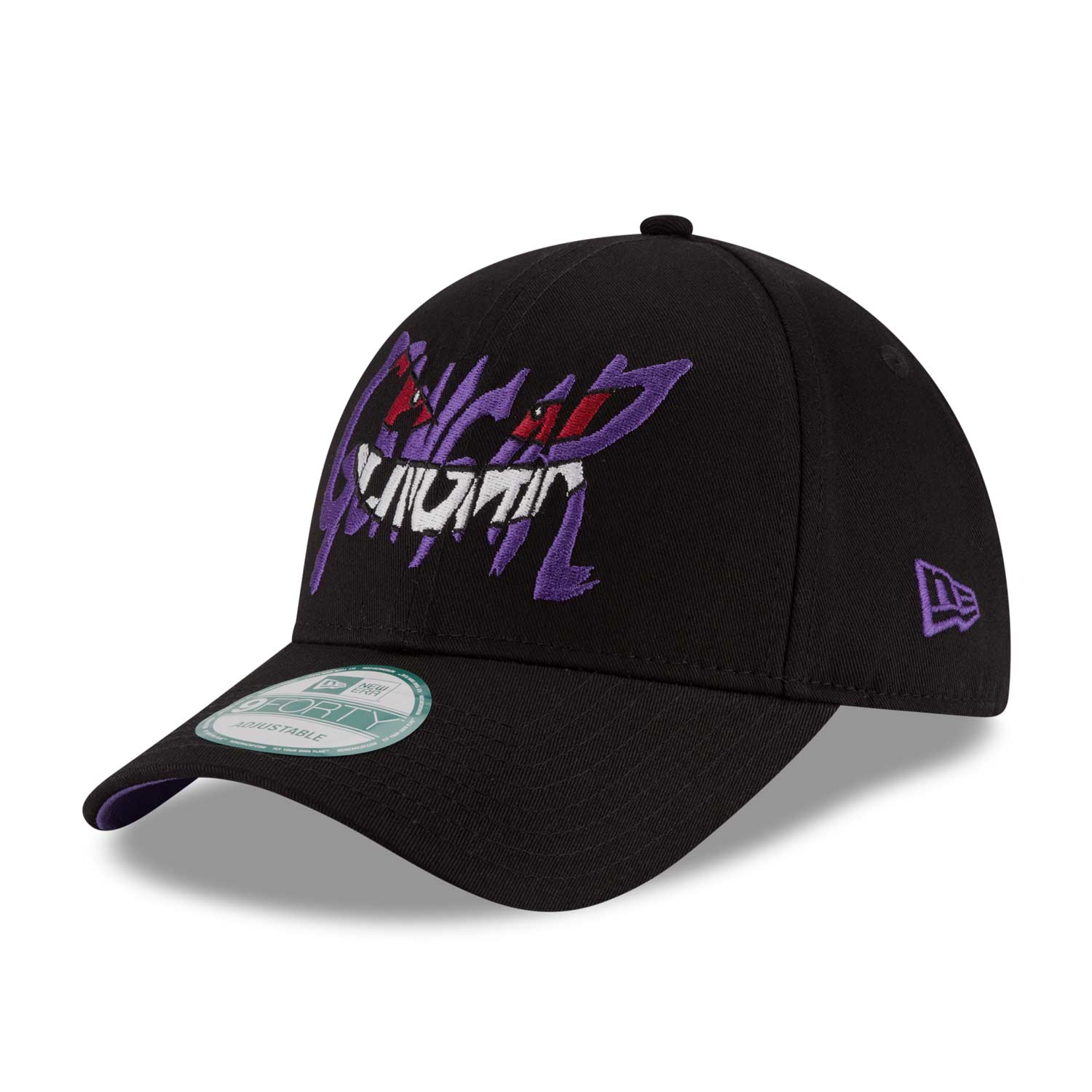 Image for Gengar Smirk 9FORTY Baseball Cap by New Era (One Size-Adult) 3e0a0558f8d