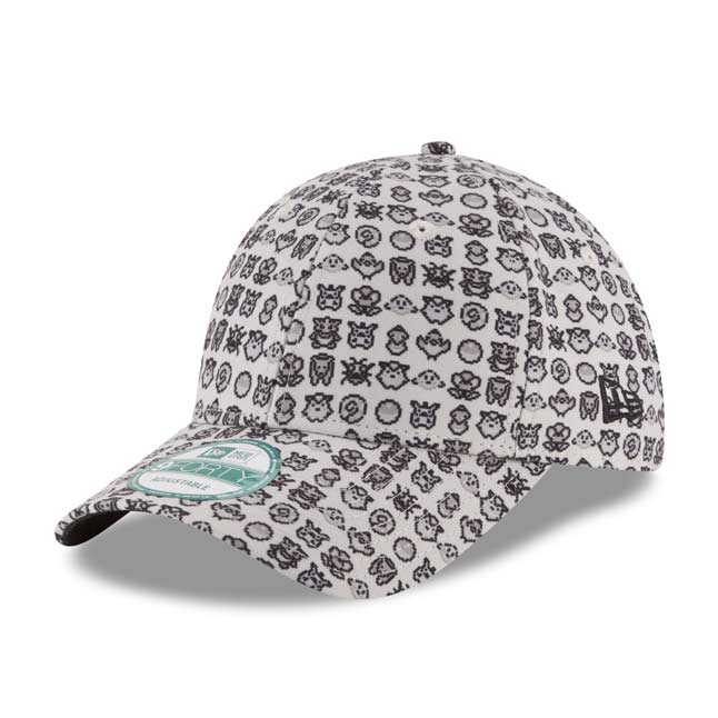 Image for Original Pixels 9FORTY Baseball Cap by New Era (One Size-Adult) from Pokemon Center
