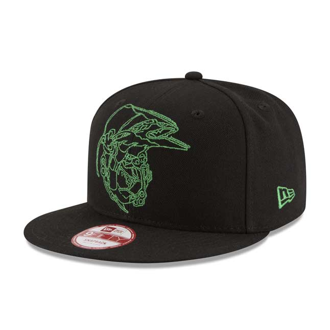 Image for Mega Rayquaza Eclipse 9FIFTY Baseball Cap by New Era (One Size-Adult) from Pokemon Center