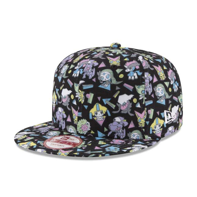 Image for Mythical Mania 9FIFTY Baseball Cap by New Era (One Size-Adult) from Pokemon Center