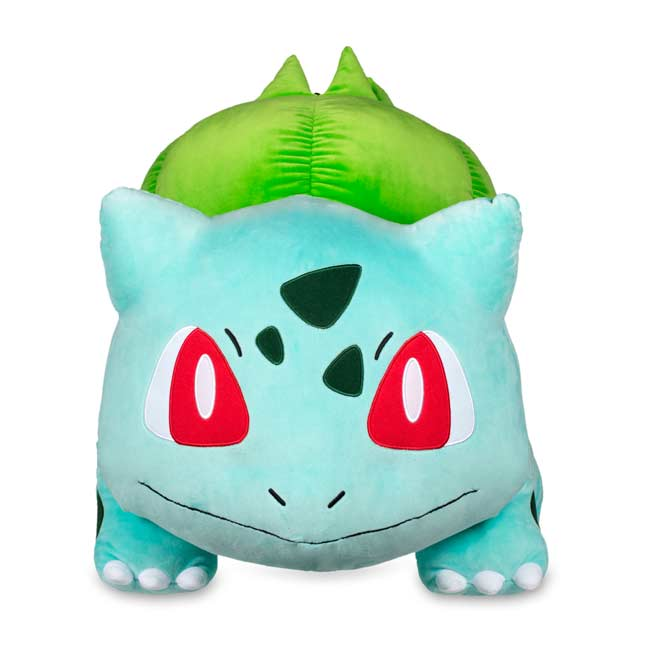 "Image for Bulbasaur Poké Plush (Jumbo Size) - 24 3/4"" from Pokemon Center"