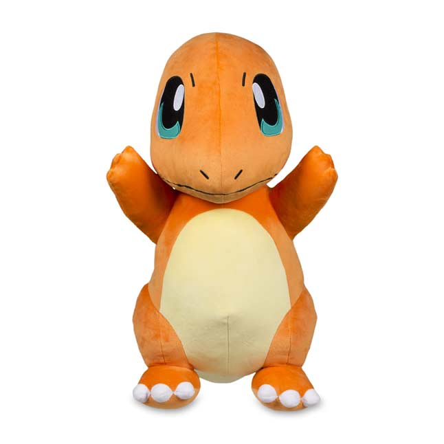 "Image for Charmander Poké Plush (Jumbo Size) - 19 1/2"" from Pokemon Center"