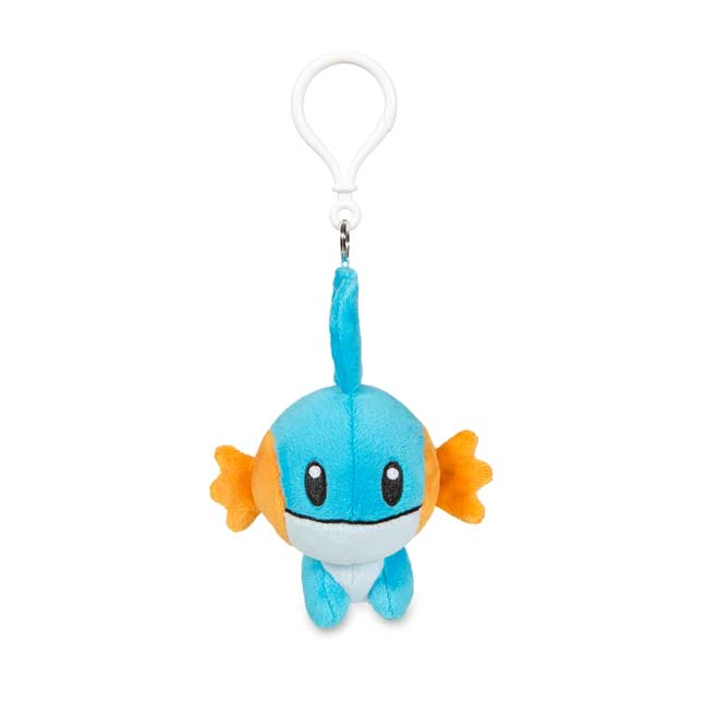Image for Mudkip Secret Base Poké Doll Keychain from Pokemon Center