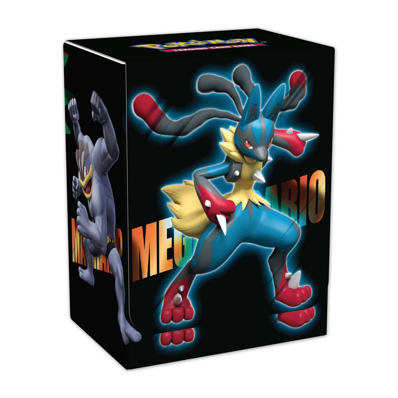 Pok 233 Mon Tcg Mega Lucario Deck Box Pok 233 Mon Tcg Trading