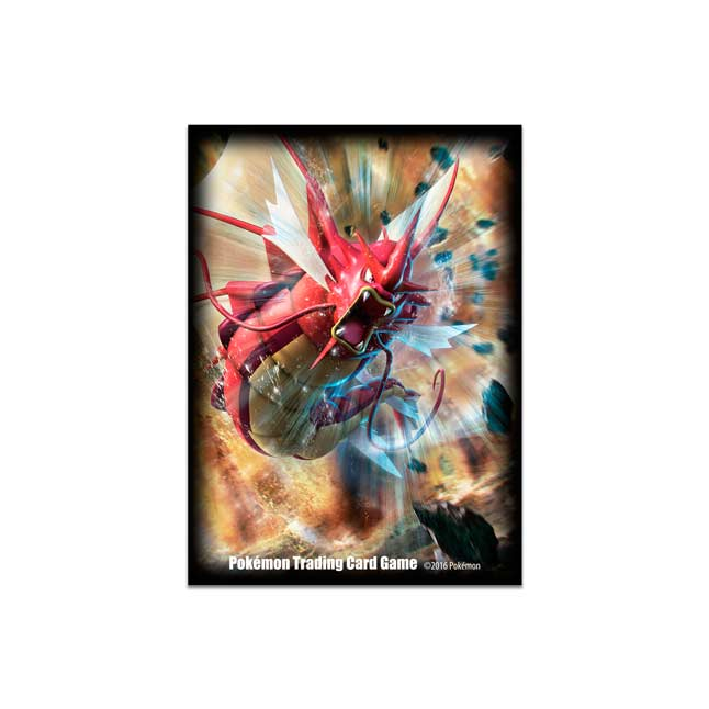 Image for Shiny Mega Gyarados Card Sleeves (65 Sleeves) from Pokemon Center