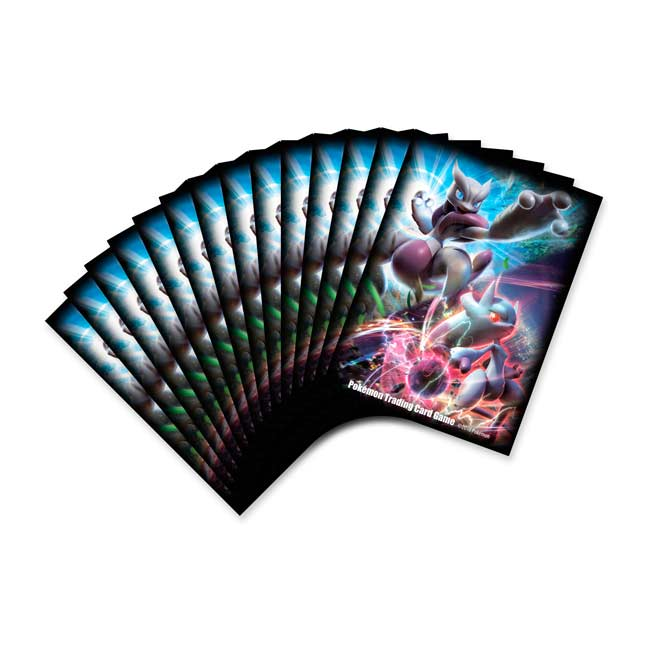Image for Mega Mewtwo X and Mega Mewtwo Y Card Sleeves (65 Sleeves) from Pokemon Center