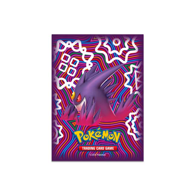 Image for Mega Gengar Card Sleeves (65 Sleeves) from Pokemon Center