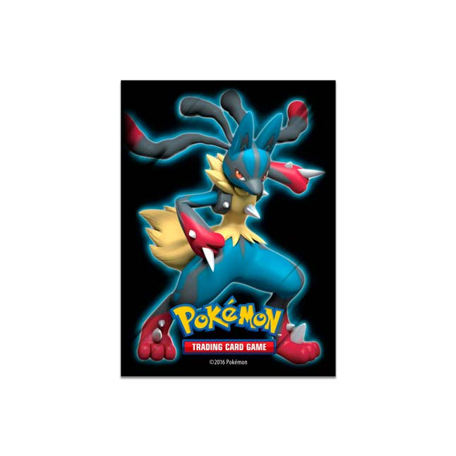 Image for Mega Lucario Card Sleeves (65 Sleeves) from Pokemon Center