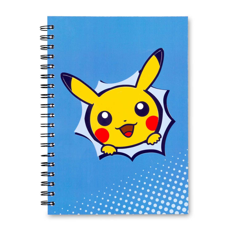 Pokemon Center Original Pikachu drawing Paper Clip with case Pikachu face