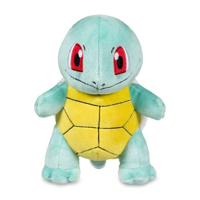 "Image for Squirtle Poké Plush (Standard Size) - 7 1/4"" from Pokemon Center"