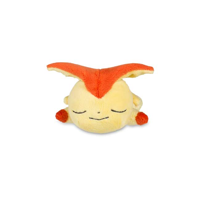 Image for Sleeping Victini Kuttari Cutie Plush from Pokemon Center