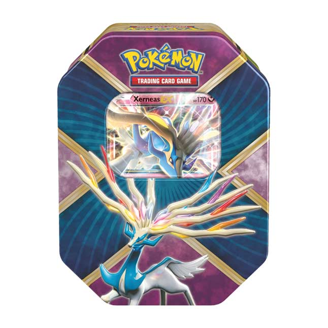 Image for Pokémon TCG: Shiny Kalos Tin (Shiny Xerneas-EX) from Pokemon Center