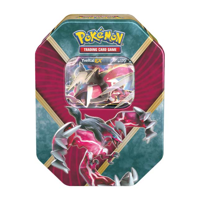 Image for Pokémon TCG: Shiny Kalos Tin (Shiny Yveltal-EX) from Pokemon Center