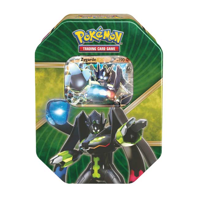 Image for Pokémon TCG: Shiny Kalos Tin (Zygarde-EX) from Pokemon Center