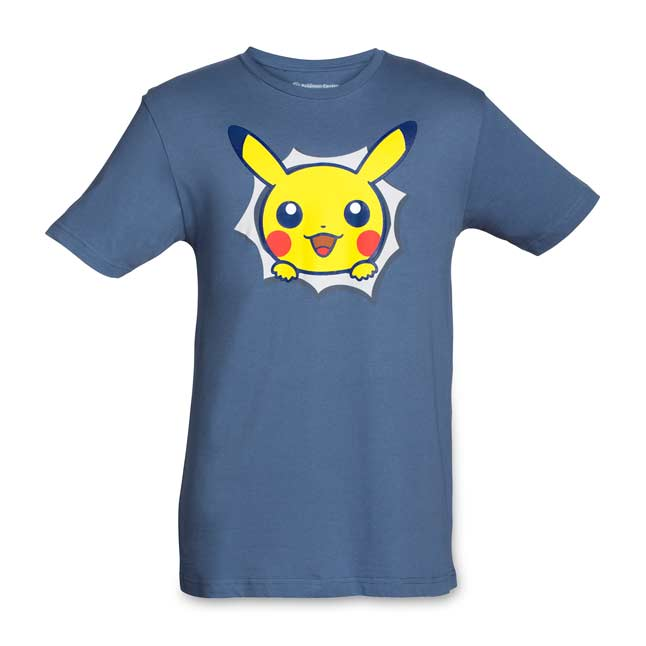 Image for Pikachu Hip Pop Parade Adult Relaxed Fit Crewneck T-Shirt from Pokemon Center