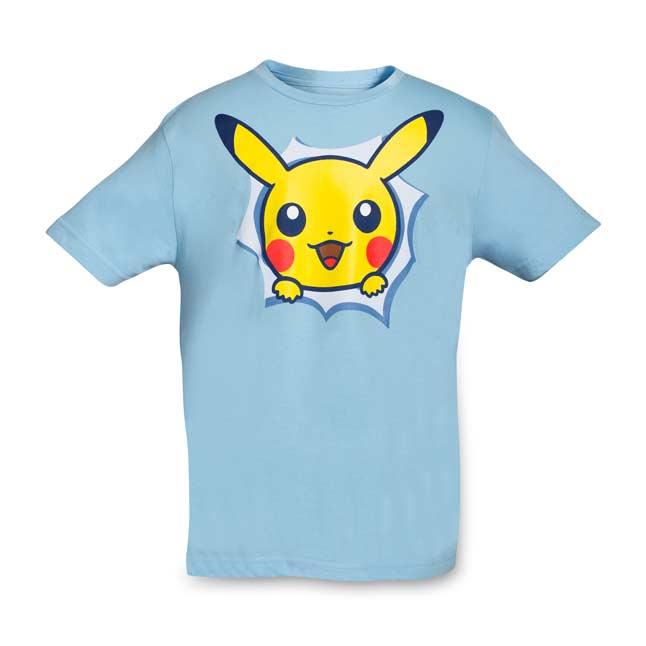 Image for Pikachu Hip Pop Parade Youth Relaxed Fit Crewneck T-Shirt from Pokemon Center