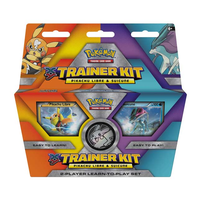 Image for Pokémon TCG: XY Trainer Kit-Pikachu Libre and Suicune from Pokemon Center