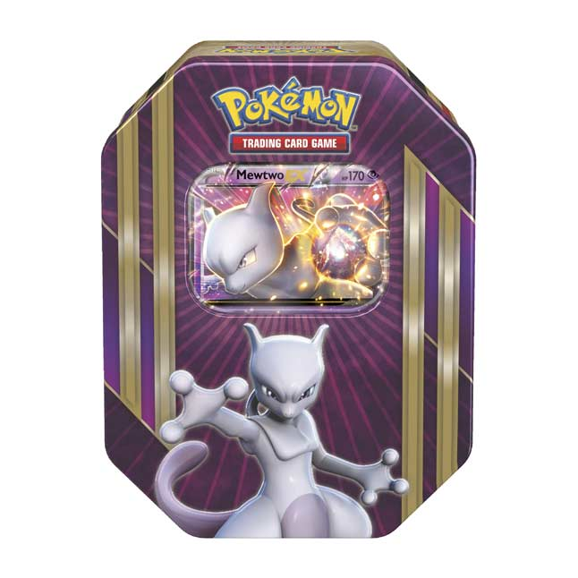 Image for Pokémon TCG: Triple Power Tin (Mewtwo) from Pokemon Center