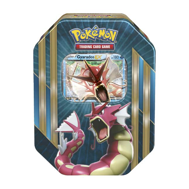 Image for Pokémon TCG: Triple Power Tin (Shiny Gyarados) from Pokemon Center