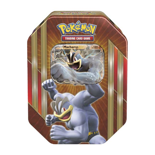 Image for Pokémon TCG: Triple Power Tin (Machamp) from Pokemon Center