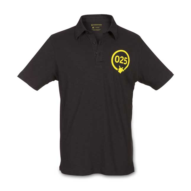 Image for Silhouette Sync Pikachu Men's Fitted Polo Shirt from Pokemon Center