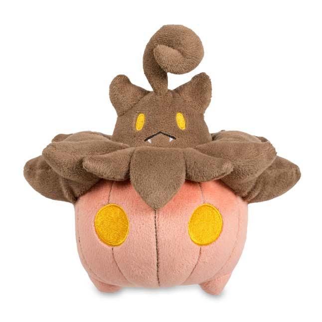 "Image for Pumpkaboo Poké Plush (Standard Size) - 7"" from Pokemon Center"