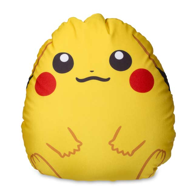 Image for Pikachu Egg-Shaped Cushion from Pokemon Center