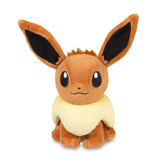 "Image for Eevee Poké Plush (Standard Size) - 6 1/2"" from Pokemon Center"
