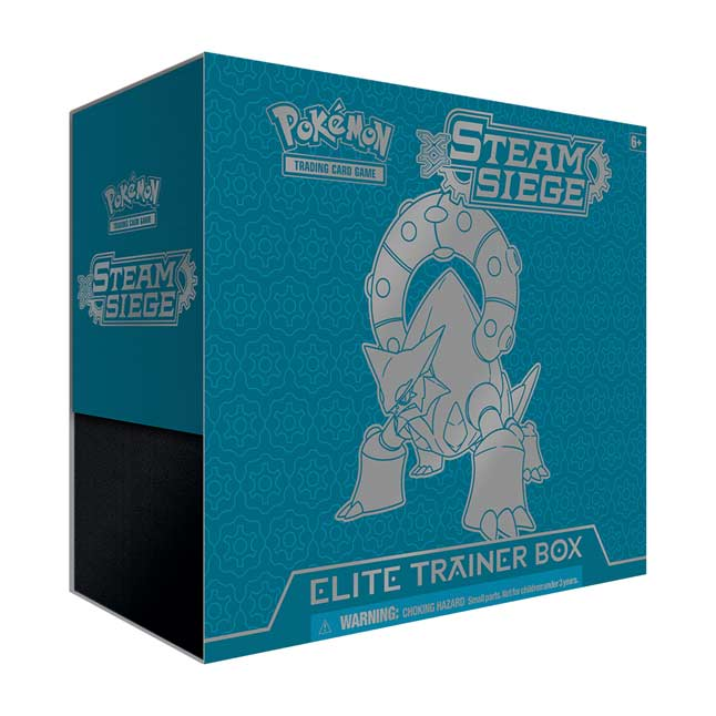Image for Pokémon TCG: XY-Steam Siege Elite Trainer Box (Volcanion) from Pokemon Center